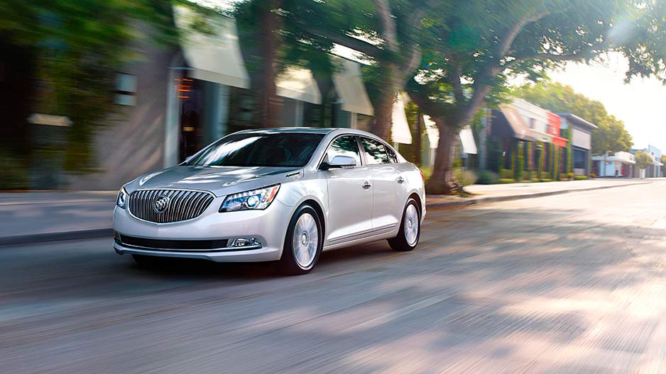 Buick's 2016 Lacrosse adopts the Omega 2 platform