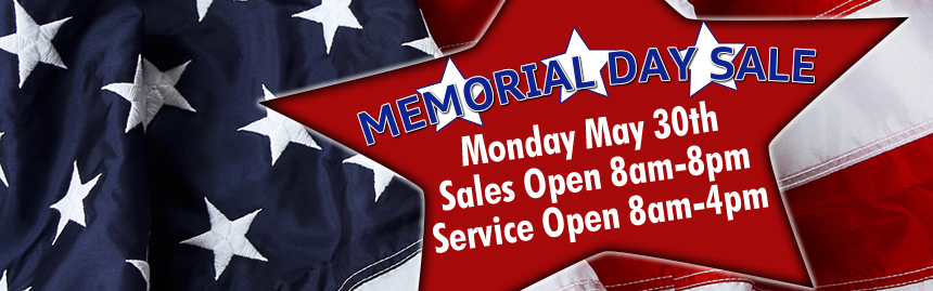 Bob Moore Memorial Day Sales Event