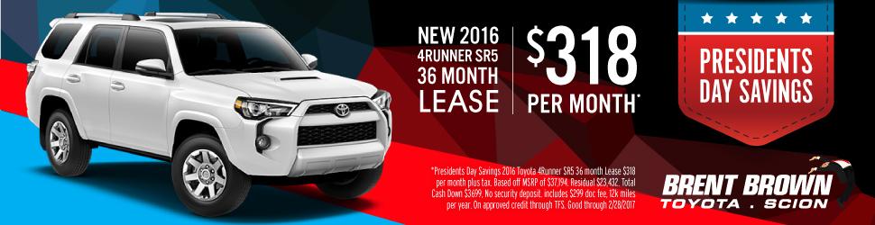 4Runner Lease Savings