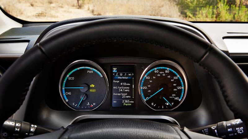 Rav4 Dashboard