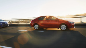 2016 Toyota Corolla driving
