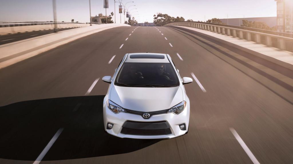 2016 Toyota Corolla sunroof