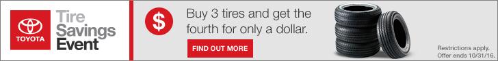 Tire Savings Event 728x90