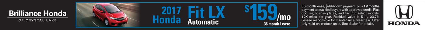 Lease Honda Fit LX $159/mo