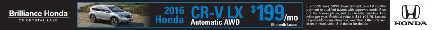 Lease Honda CR-V LX $199/mo