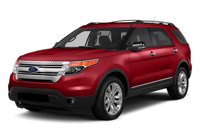2015 Ford Explorer Front