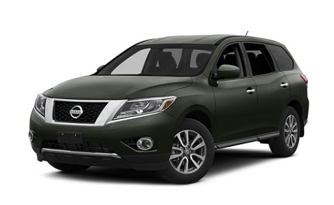 2015 Nissan Pathfinder Front