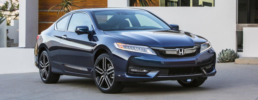2016 Honda Accord Coupe driveway