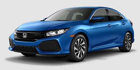 The 2017 Honda Civic Hatchback Lx Trim