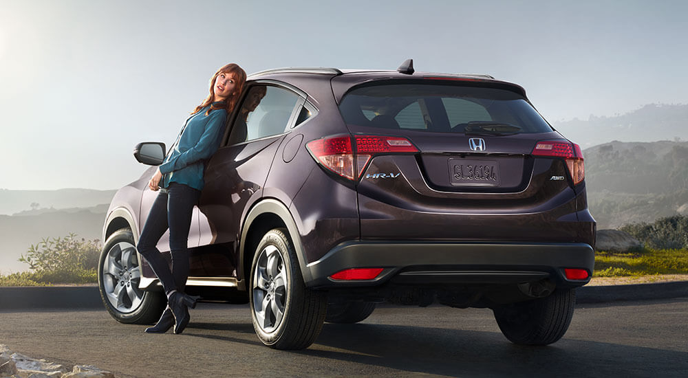 2017 Honda HR-V design