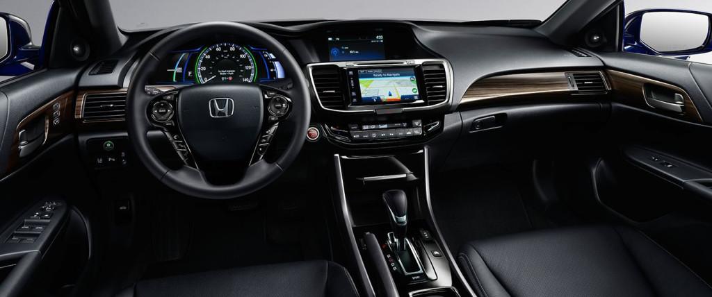 2017 Honda Accord Hybrid Interior Dashboard