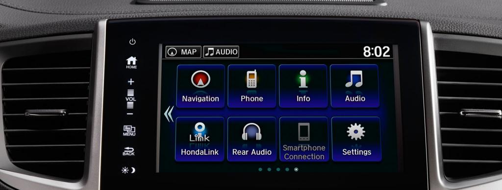Honda Pilot touchscreen
