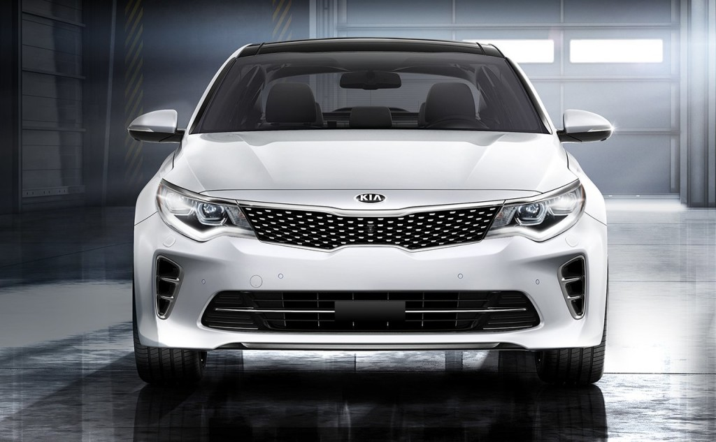 2017 Kia Optima trims