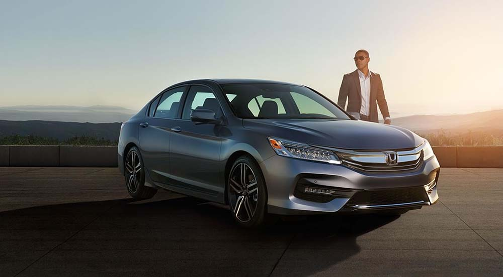 2017 Honda Accord Parked