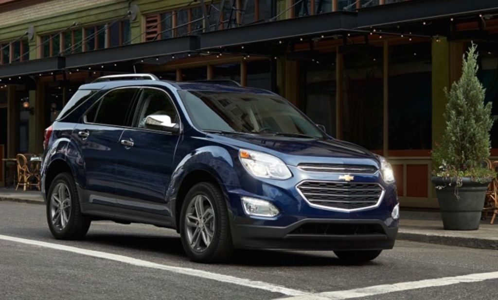 black 2017 Chevy Equinox