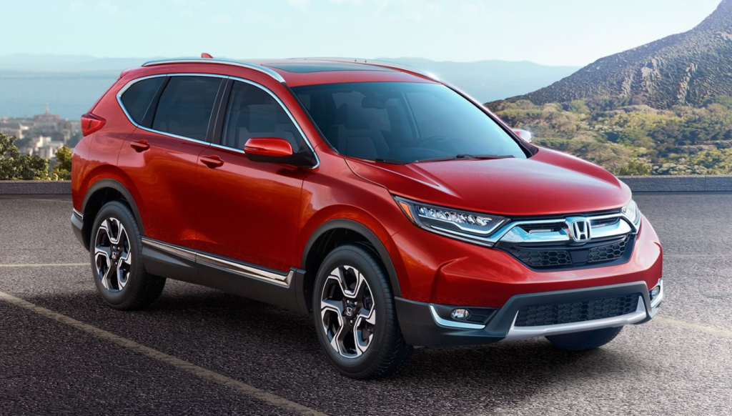 Red 2017 Honda CR-V