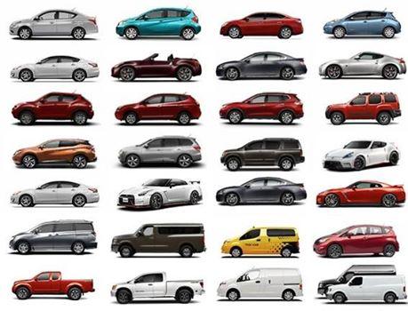 2015 Nissan Lineup