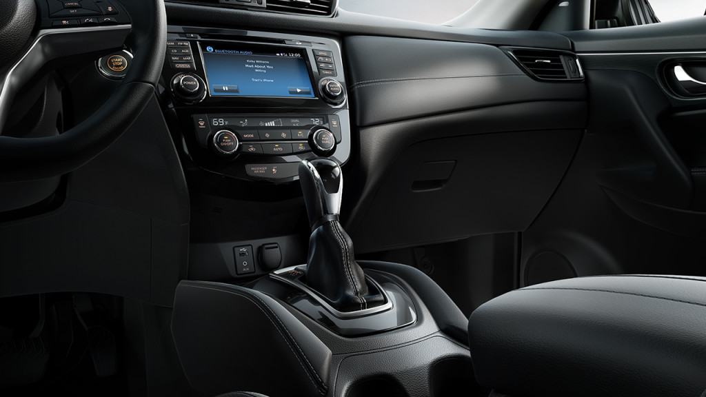 Nissan Rogue Seating >> Nissan Rouge Storage And Seating Standard Interior Features