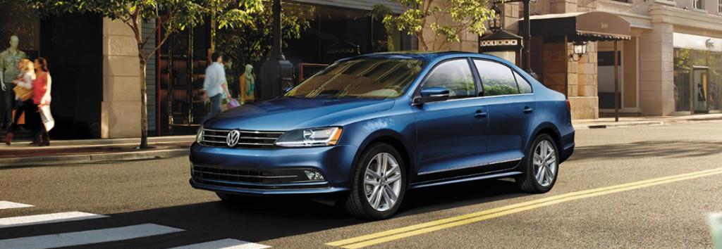 2017 VW Jetta Blue