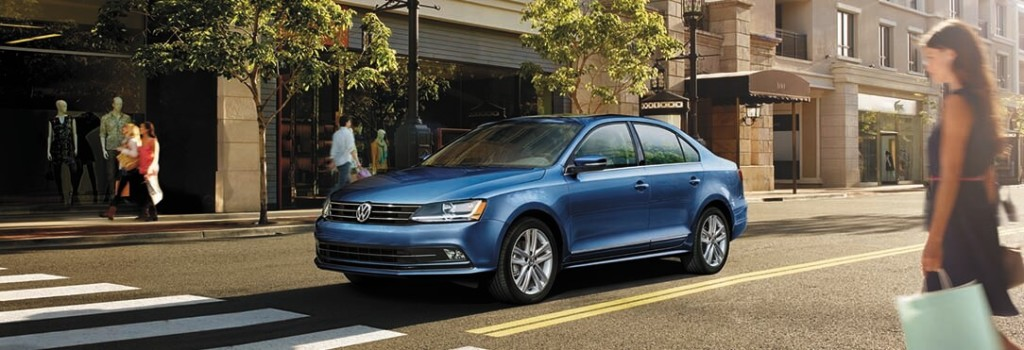 2017 VW Jetta Blue