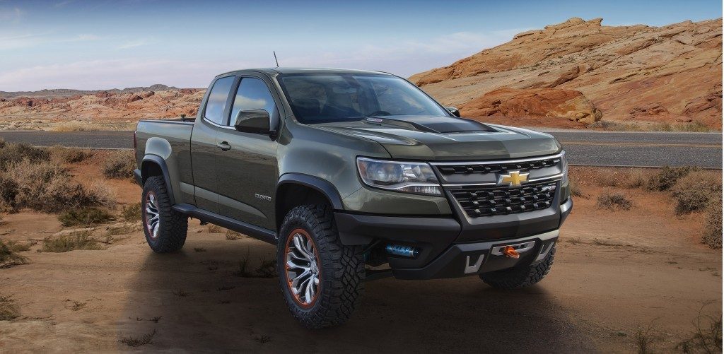 Chevy Colorado Off Road
