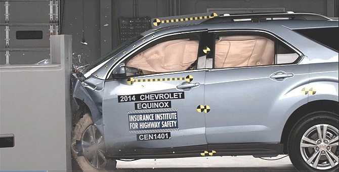 Equinox Terrain Top Safety Pick Ratings