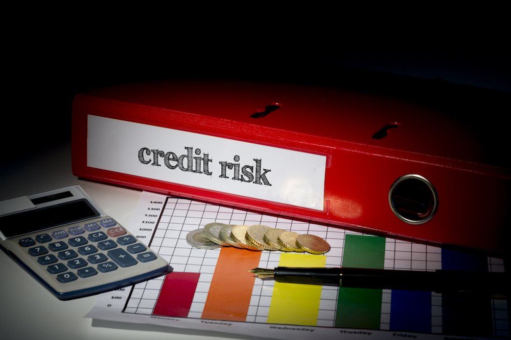 Credit risk on red business binder