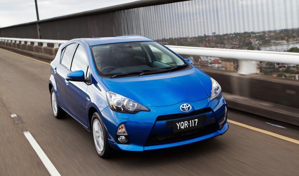 2012 Toyota Prius c i-Tech