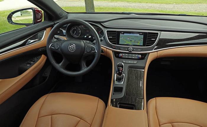 2017-Buick-LaCrosse-Garber Interior