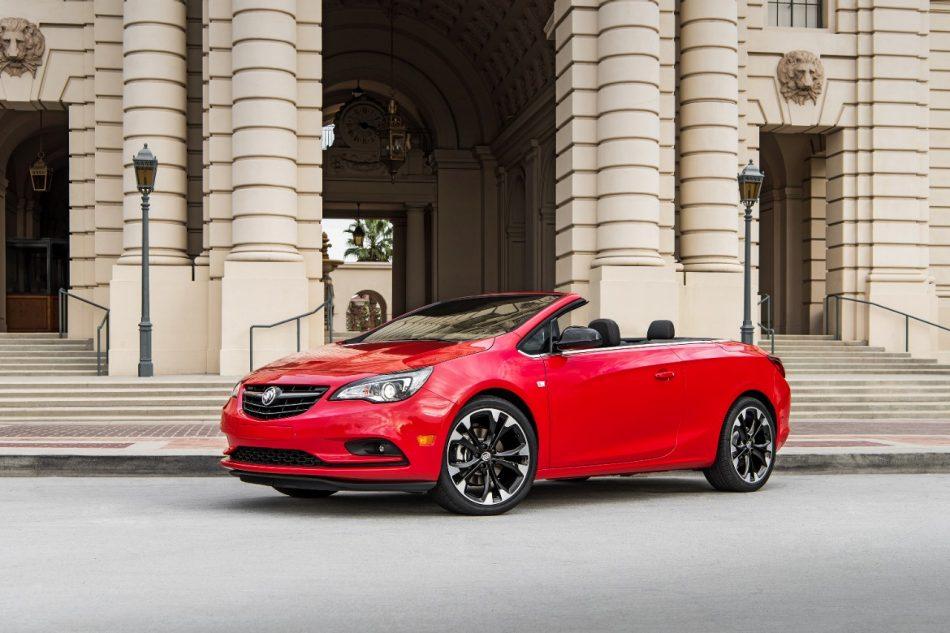 Garber Buick Cascada Sport Red