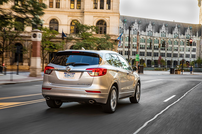 buick envision garber