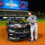 World Series MVP Ben Zorbist Camaro SS 50th Anniversary Edition