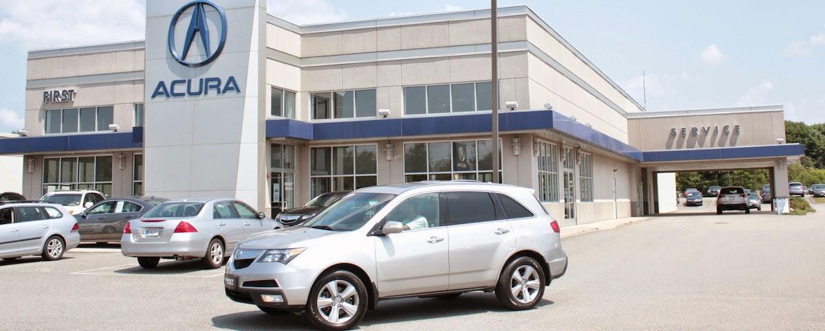 Acura And Used Car Dealer Near Providence First Acura - Acura car dealer