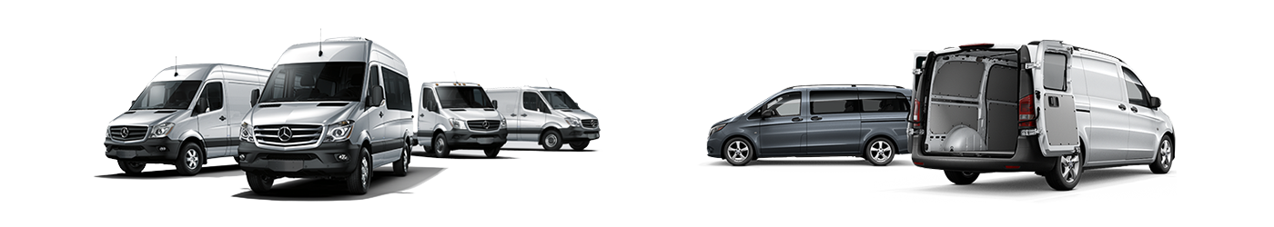 Sprinter and Metris Commercial Vans