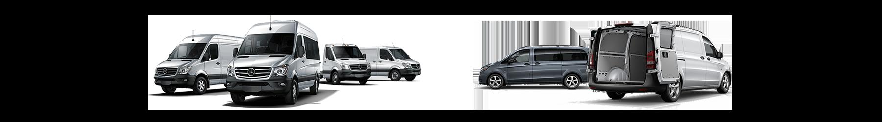 Sprinter and Metris Commercial Vans