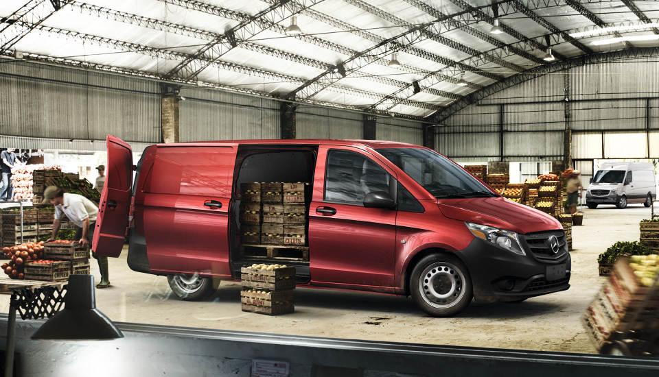 2017 Mercedes-Benz Metris Worker Cargo Van
