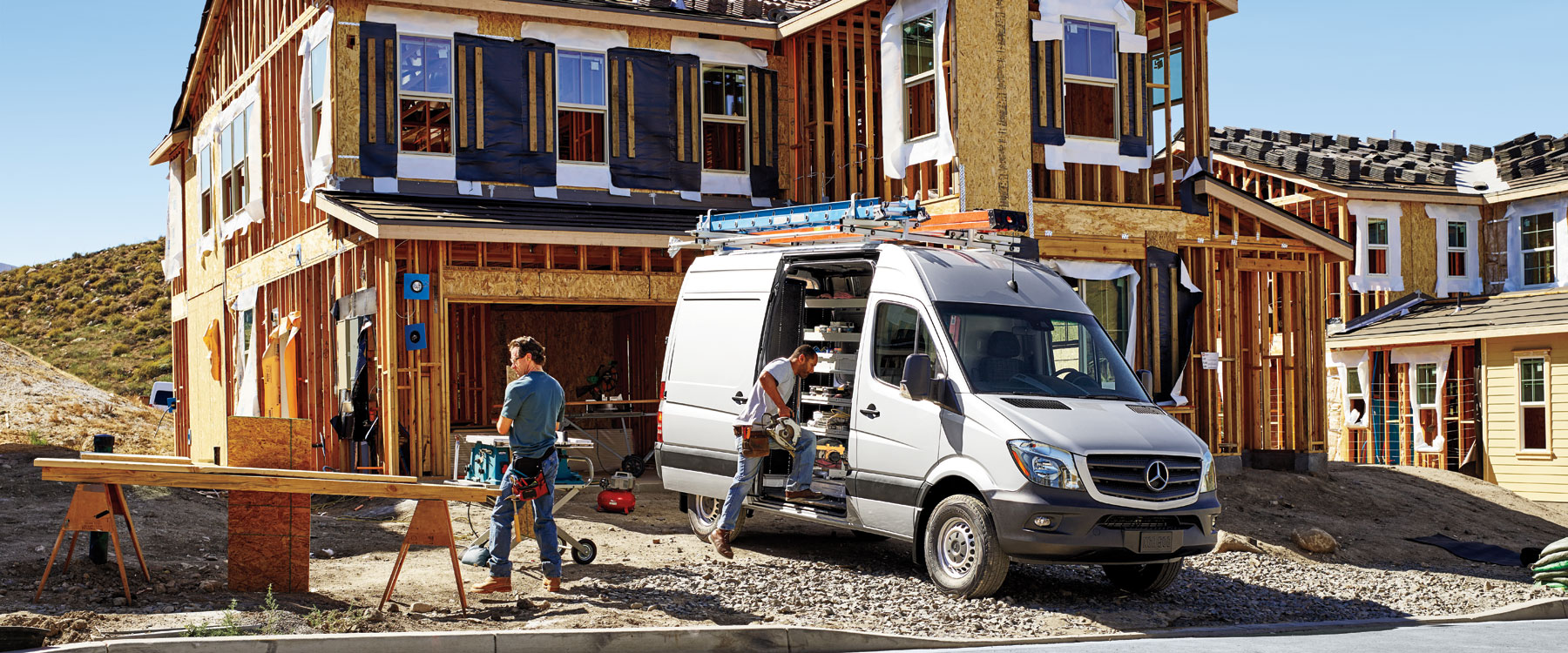 2016 Mercedes-Benz Sprinter Worker Cargo Van