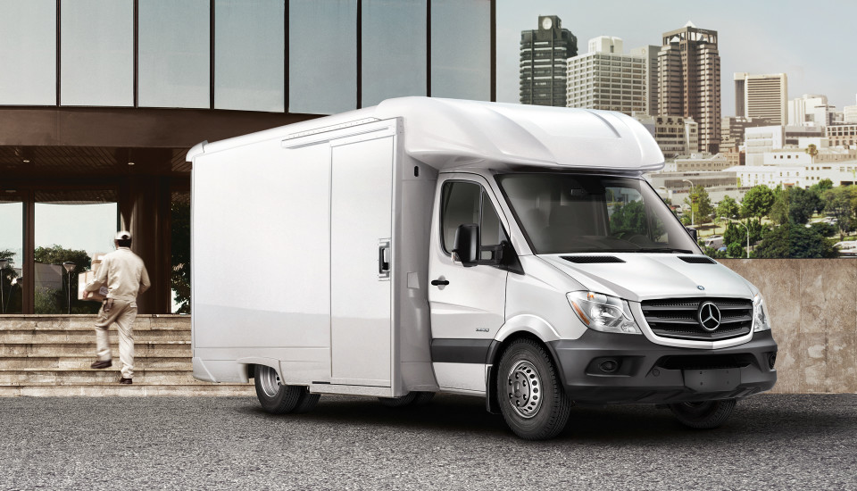 Powerfully Adaptable – The 2017 Sprinter Cab Chassis