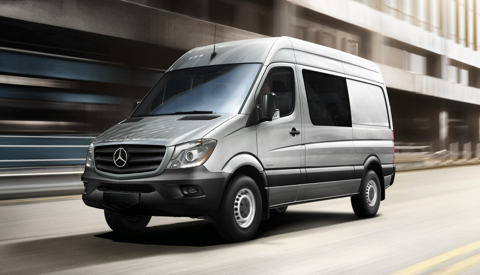 2017 Mercedes-Benz Sprinter Crew Van