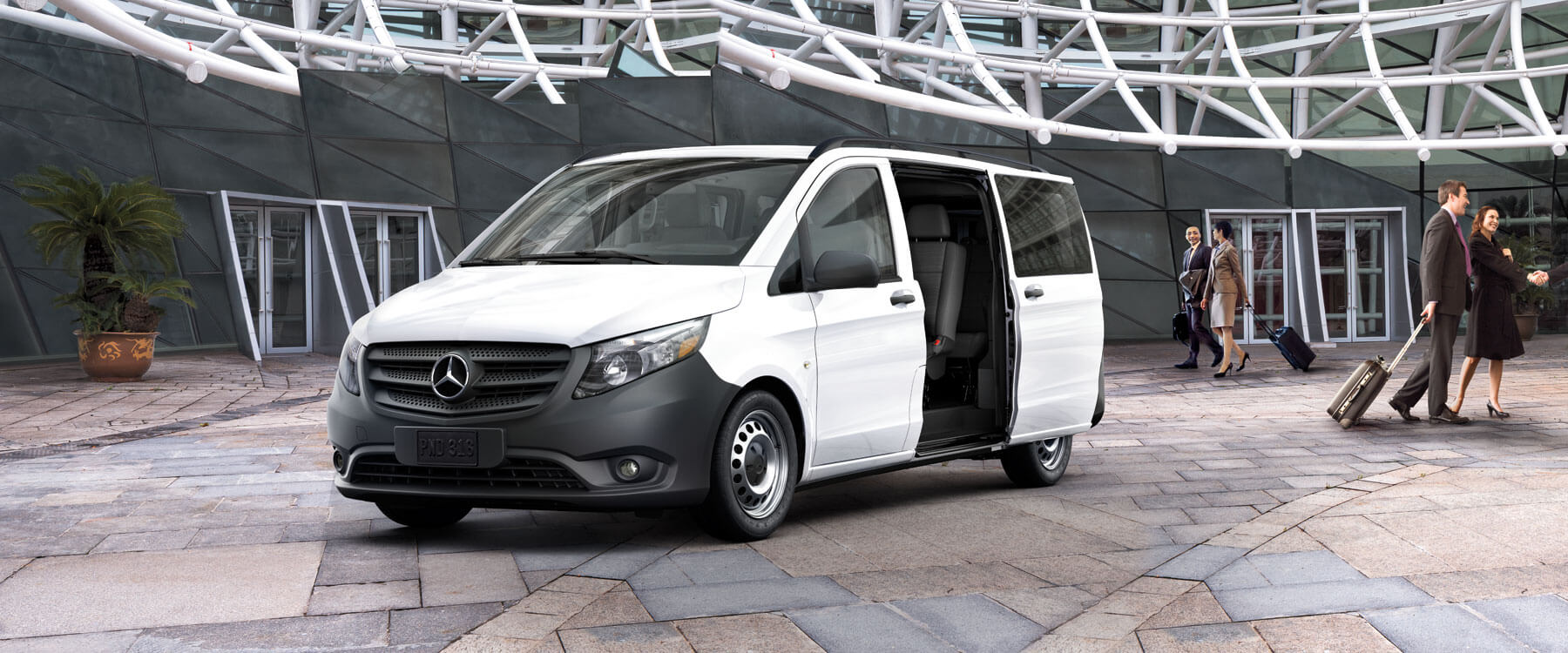 The metris passenger van is versatile and well equipped for 2017 mercedes benz metris passenger van