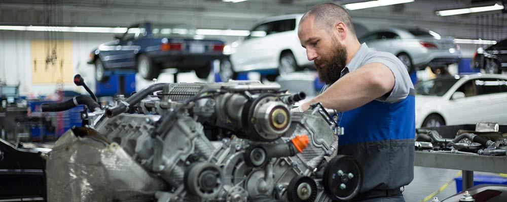 Get MercedesBenz Van Engine Repair At A Skilled Service Center - Mercedes benz service and parts