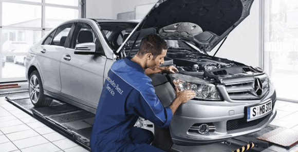 What are the mercedes benz service a and b intervals for Mercedes benz service contract