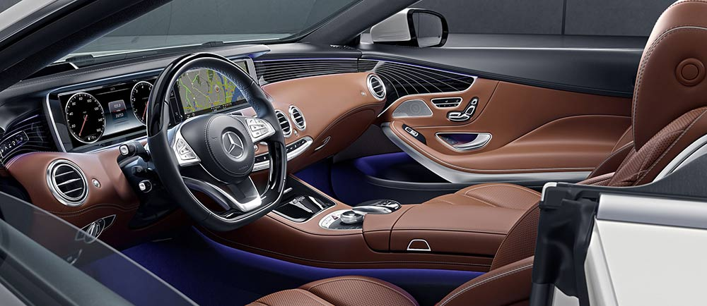 If Youu0027re Considering The 2017 Mercedes Benz 2017 S 550 Cabriolet, Youu0027re  Likely Wondering What Itu0027s Like To Sit Inside Of One Of These Sumptuous  Vehicles.