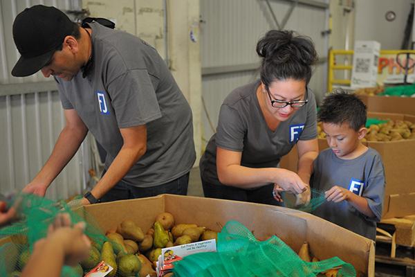 Fletcher Jones Food Bank Volunteers