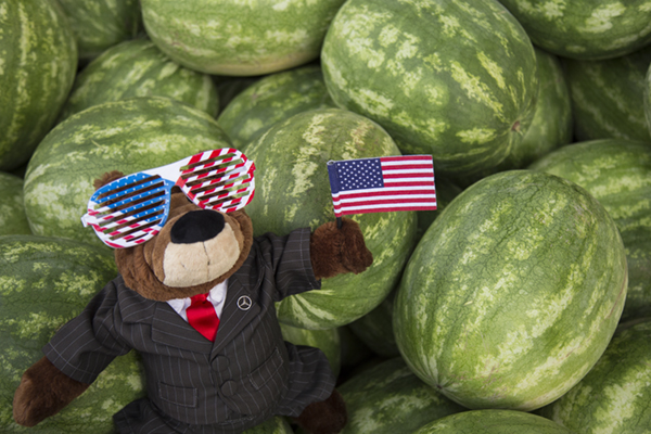 Independence Day Watermelons