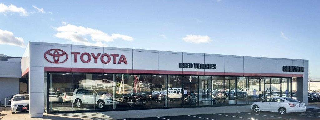 Toyota Used Car Center. When Germain Toyota Of Columbus ...