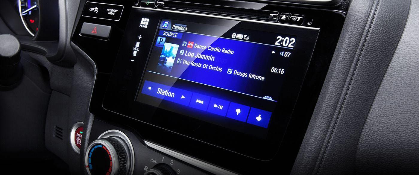 Honda Fit Radio