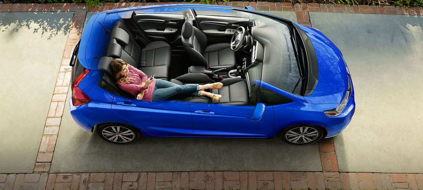Cargo Capacity Storage And Seating In The 2017 Honda Fit