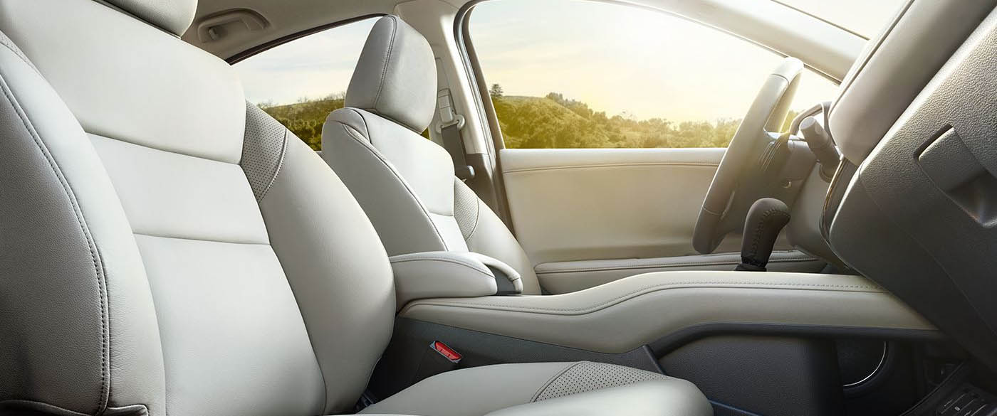 Honda HR-V Interior Front Leather Seating