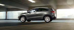 Honda HR-V driving